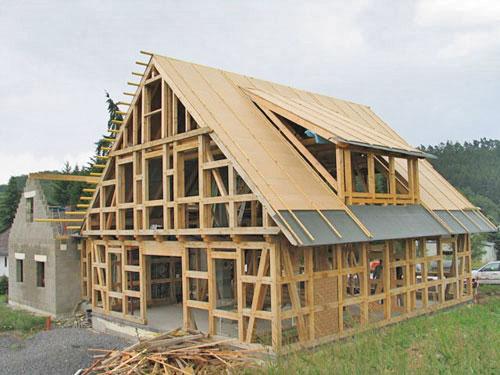 Технология строительства домов родом из Канады