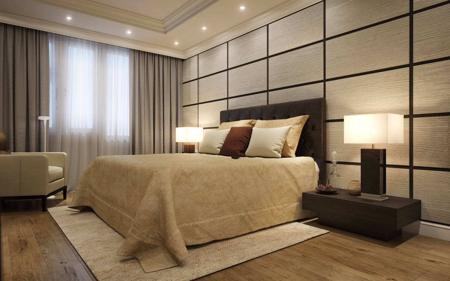 Decorative panels for interior wall decoration: main types