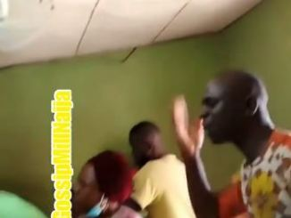 Moment preacher storms betting shop to share the gospel
