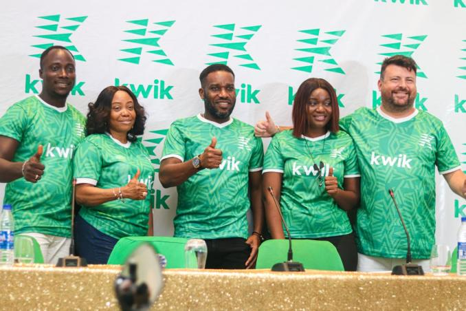 Kwik Delivery unveils Okocha and Fehinty as Brand Ambassadors