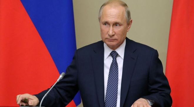 Couple are banned from naming their son after Russian president Vladimir Putin