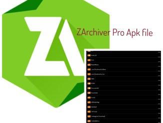 ZArchiver Pro Apk 0.9.6 file