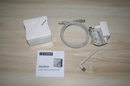 Zipabox desembalada