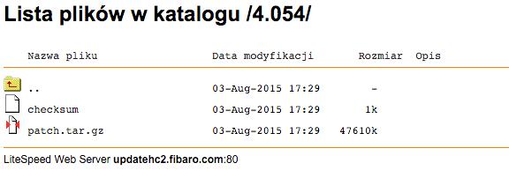 Fibaro Firmware Download