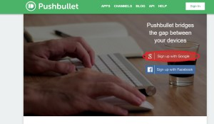Site PushBullet
