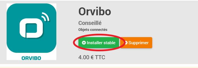 Installer Stable