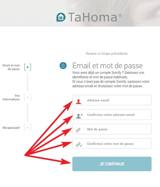 E-mail Et Mot De Passe