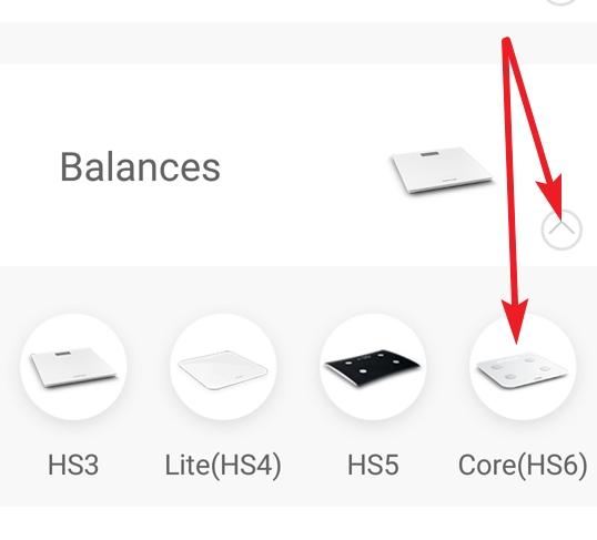 Balance Core HS6