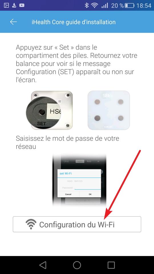 Configuration Du Wi-Fi