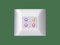 domintell-viervoudige-druktoets-classic-rgbw-temperatuursonde-lightgrey