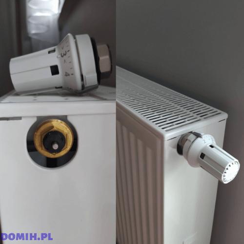 Dopasowana głowica termostatyczna do grzejnika