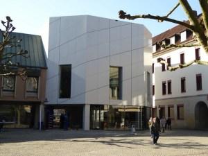 Der neue Domschatz Minden am Kleinen Domhof beherbergt eine der bedeutendsten Sammlungen christlicher Kunst in Deutschland. Foto: DVM/Hans-Jürgen Amtage