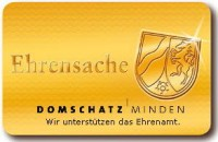 Der Domschatz Minden und der Dombau-Verein Minden sind Partner der Ehrenamtskarte NRW. Foto: PR