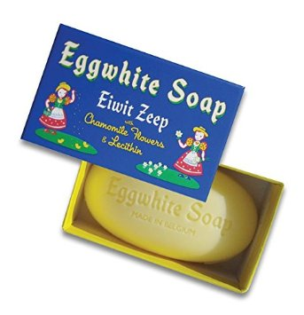 Egg white facial soap
