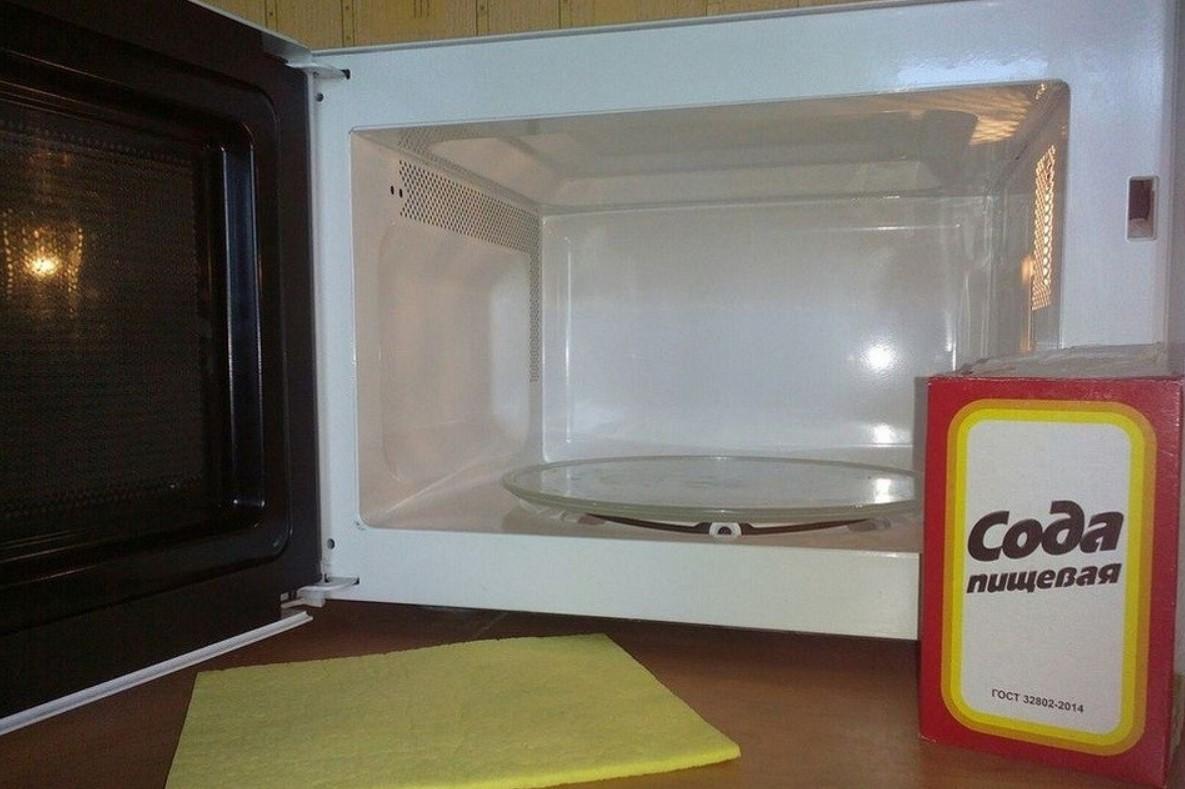 Pulizia di sodio a microonde