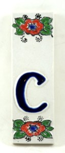 ozdobna płytka ceramiczna