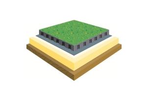 Озеленени покриви с ЕПДМ