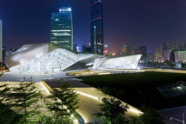 Оперный театр Гуанчжоу от Zaha Hadid Architects