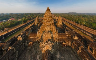 Temple Angkor Wat, au Cambodia