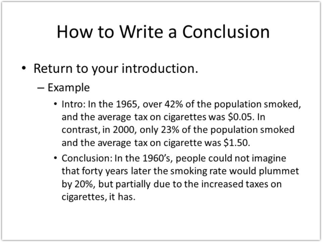 Help Me Write A Conclusion Paragraph - How To Write A Good