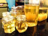 Jar the limoncello.