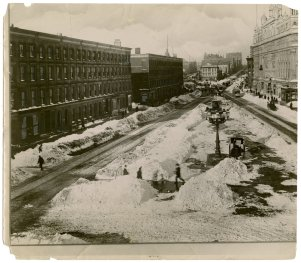 Vintage New York Blizzards, by The New York Times