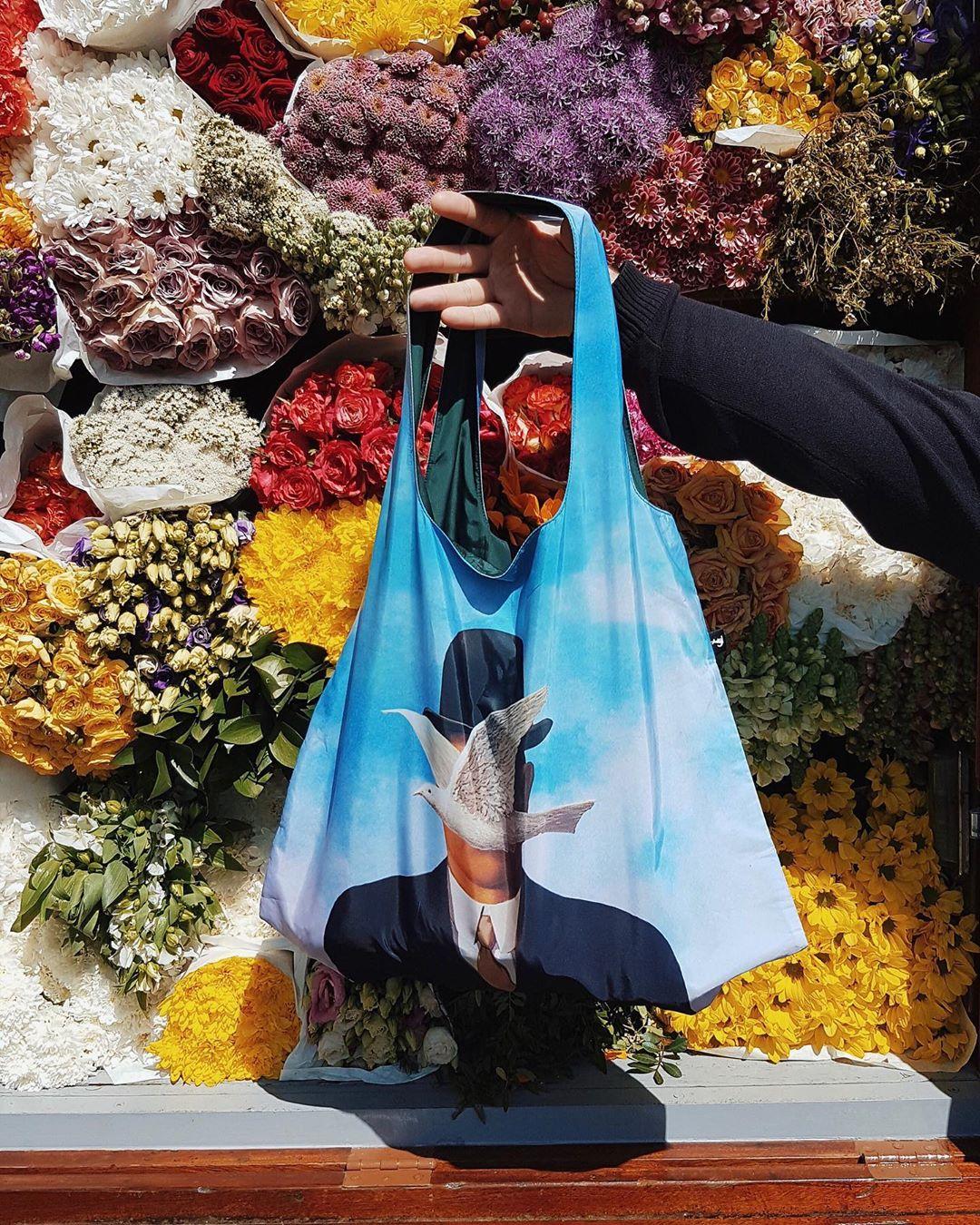 Шоппер с картиной Рене Магритта
