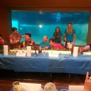 Snooty Lettuce Eating Contest