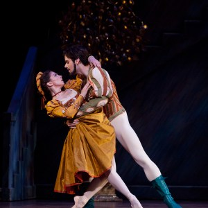 Photo credits:  Ballet: The Taming of the Shrew  Artist(s): Melody Mennite and Connor Walsh  Photo: Amitava Sarkar  Image provided courtesy of Houston Ballet