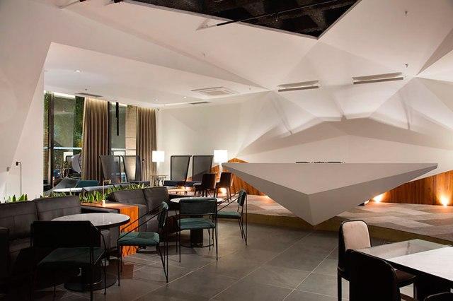 Standard Dining Club em Campinas por Studio Otto Felix.