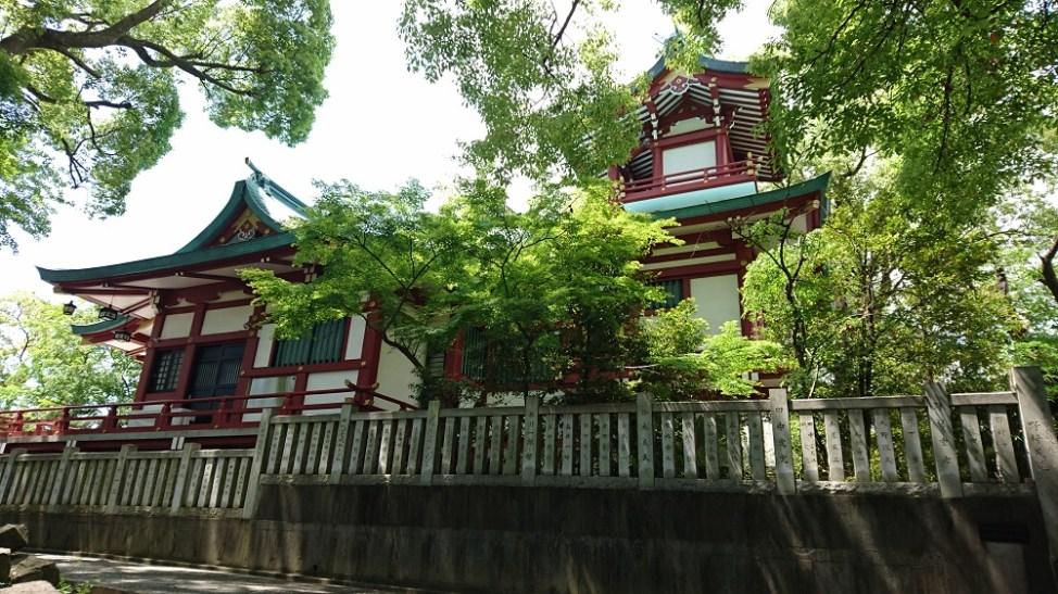 多摩川浅間神社の浅間造り