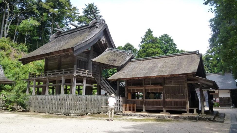 松江市の神魂神社