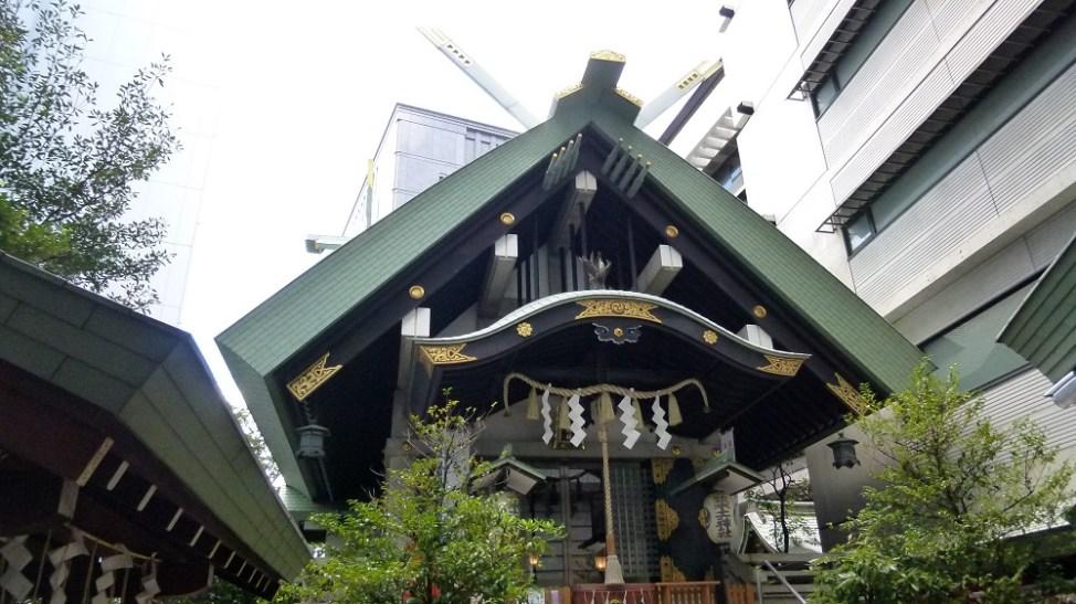 平将門を祀る築土神社