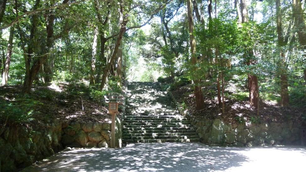倭姫宮の石段