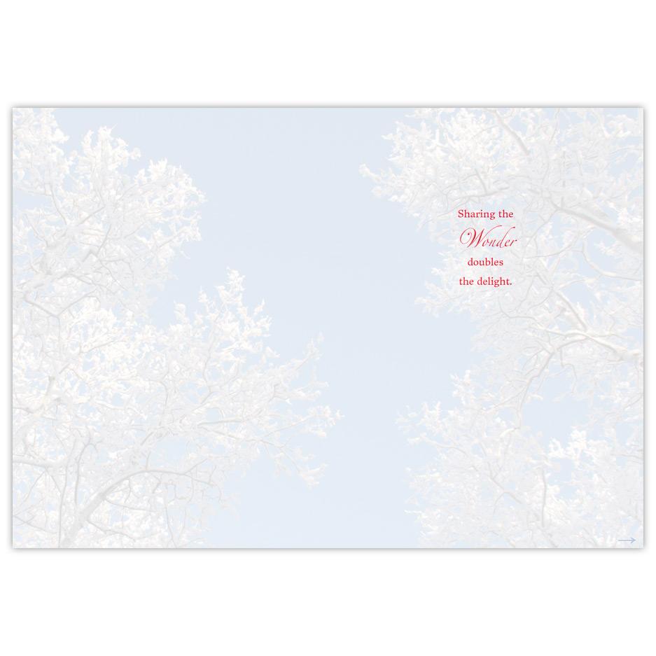 Walking In A Winter Wonderland Greeting DnaBna Cards