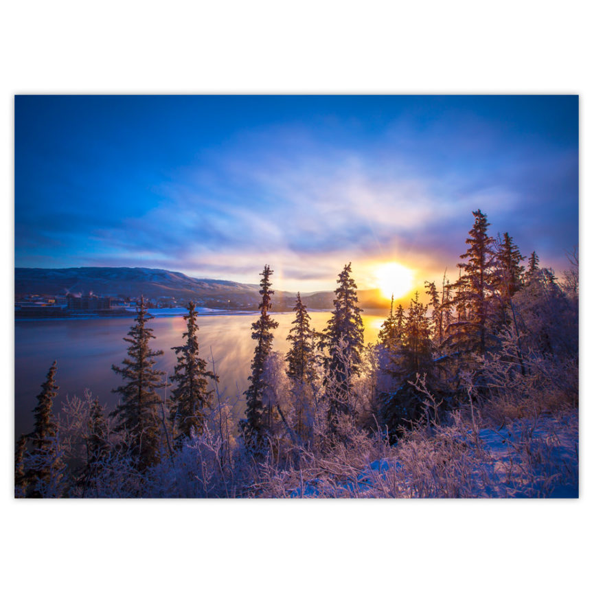Winter Sun Rising DnaBna Cards