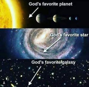 Gods' Favourite Planet