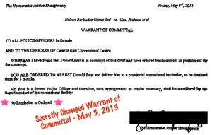 20130503 Warrant Justice Shaughnessy SAN