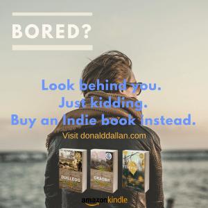 Indie Author; Bored?