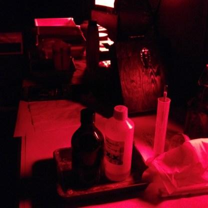 collodion darkroom