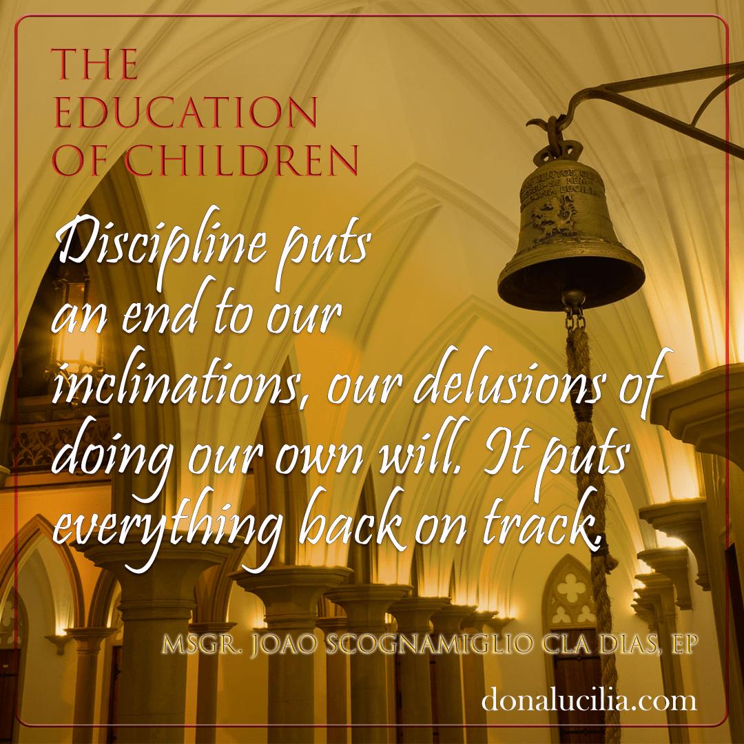 Discipline – Authority and Gentleness