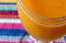 Suco de Cenoura com Maça e Hortelã
