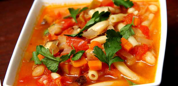 Minestrone, Sopa Italiana com Legumes