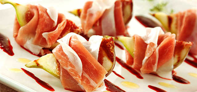 Figos Grelhados com Presunto Parma Gourmet