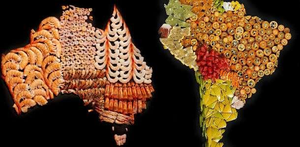 Veja! Projeto Cria Mapas com Comidas Típicas e Mostra Diversidade Gastronômica