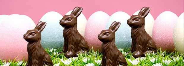 Ovo de Páscoa de Chocolate uma invenção de confeiteiros franceses