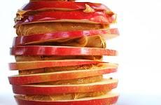 Sanduíche de Maçã com Pasta de Amendoim