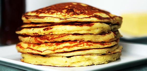 Panqueca Americana Rápida para Café da Manhã