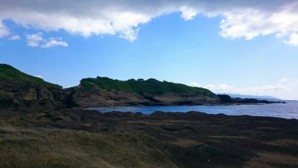 鴎島の裏側・千畳敷
