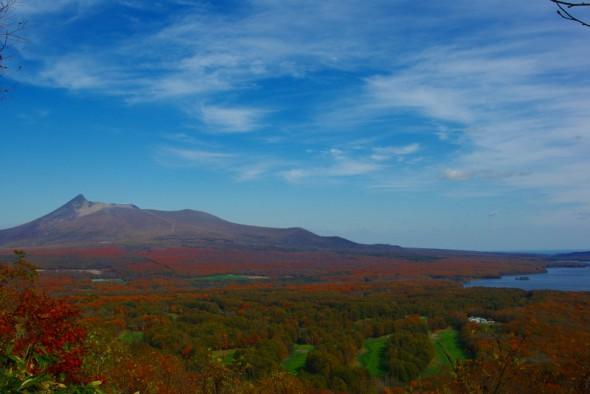 日暮山展望台から駒ヶ岳